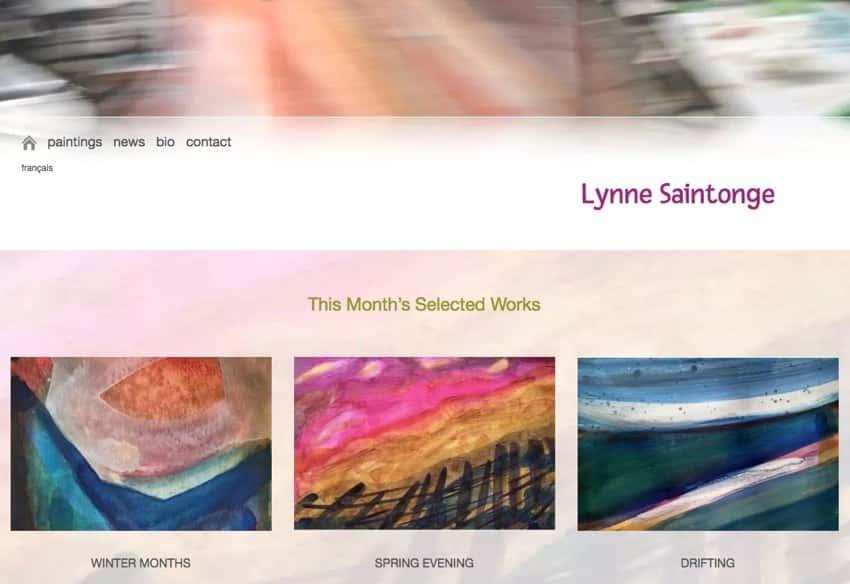 Moncton Artist Lynne Saintonge