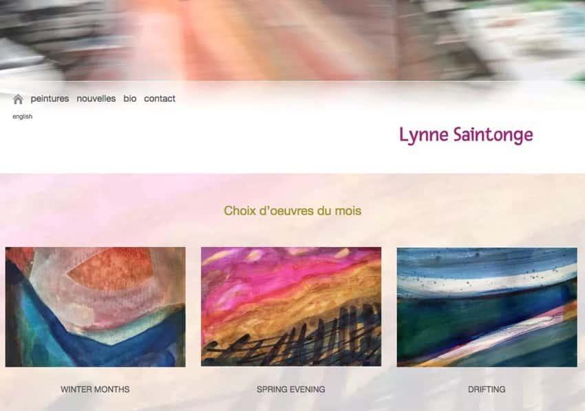 Moncton Artiste Lynne Saintonge