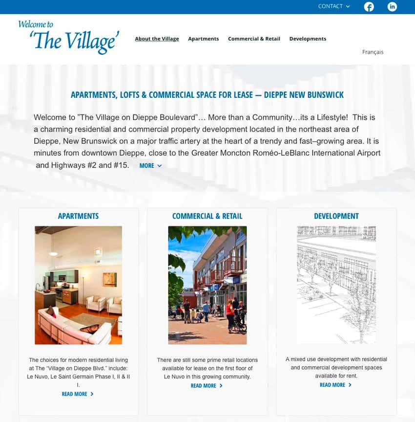 village on dieppe blvd