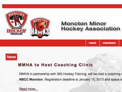 Moncton Minor Hockey Association Logo