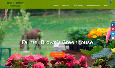 Farmer Brown's Greenhouse Moncton NB