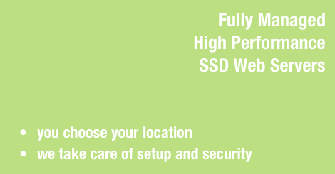 managed ssd servers